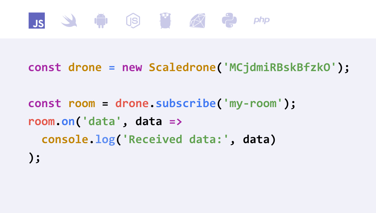 Scaledrone Realtime Messaging Service
