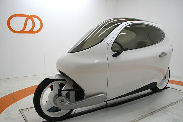 Electric Vehicle with 2 wheels